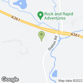 Map of Car Care Centre in South Molton, devon