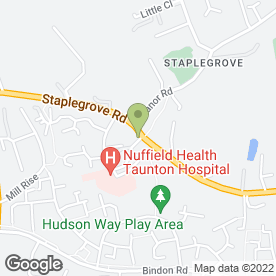 Map of Staplegrove P.O & Stores in Staplegrove, Taunton, somerset