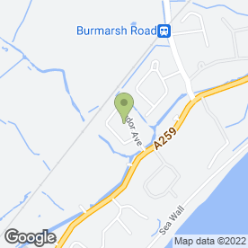 Map of A.B.S Plumbing in Dymchurch, Romney Marsh, kent