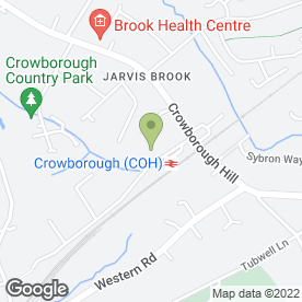 Map of Wealden Satellite & Aerials in Crowborough, east sussex