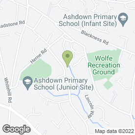 Map of Drive-Tech in Crowborough, east sussex