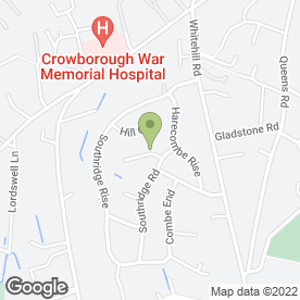 Map of W.J Taylor in Crowborough, east sussex