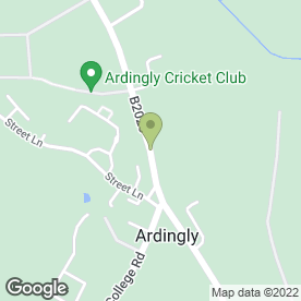 Map of Avenue Decking Swimming Pools & Spas in Ardingly, Haywards Heath, west sussex