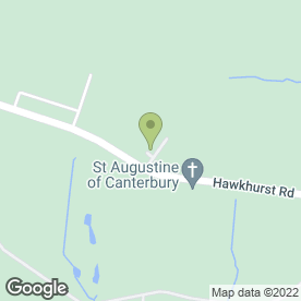 Map of LivingWood Floors in Flimwell, Wadhurst, east sussex
