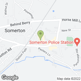 Map of Williams Supermarket in Somerton, somerset