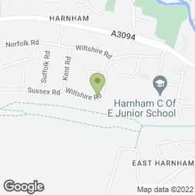 Map of Yeatman Glaziers in Harnham, Salisbury, wiltshire