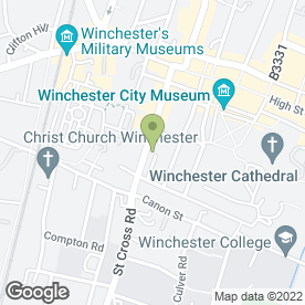 Map of architecture3sixty in Winchester, hampshire