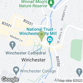 Map of Witcher Crawford Architects in Winchester, hampshire