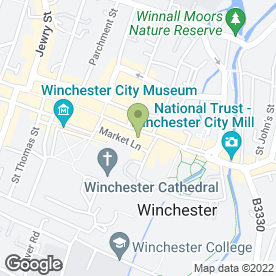 Map of Greggs in Winchester, hampshire