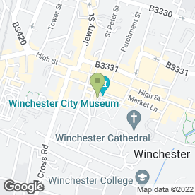 Map of The Old Vine in Winchester, hampshire