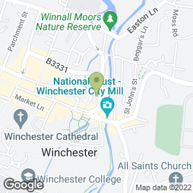 Map of GS Heating in Winchester, hampshire