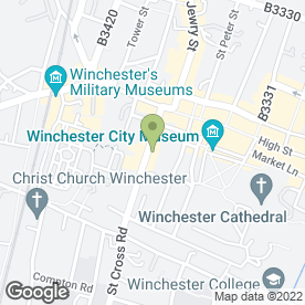 Map of HUW THOMAS in Winchester, hampshire