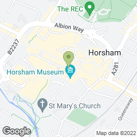 Map of ML Surveyors LLP in Horsham, west sussex