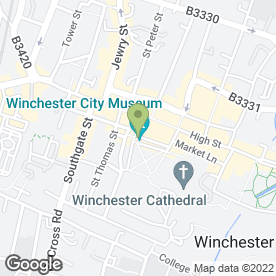 Map of The Eclipse Inn in Winchester, hampshire