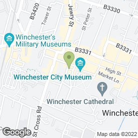 Map of ANDREW SMITH in Winchester, hampshire