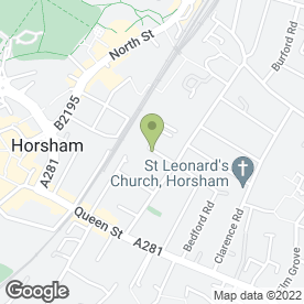 Map of Whitgift Hire in Horsham, west sussex