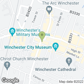 Map of Pearsons Estate Agents in Winchester, hampshire