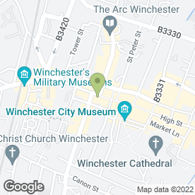Map of Personal Homefinders Ltd in Winchester, hampshire