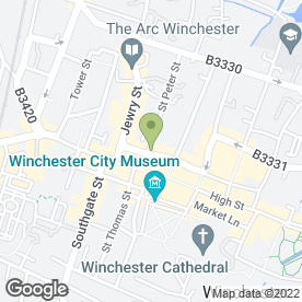 Map of Dutton Gregory LLP in Winchester, hampshire