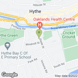 Map of Pure Skin Clinic in Hythe, kent