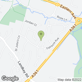 Map of Learner Driving Centre in Barnstaple, devon