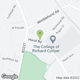 Map of Wilson & Mansfield Ltd in Horsham, west sussex
