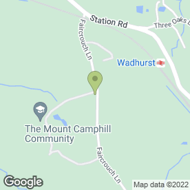 Map of FAIRCROUCH GARAGE in Wadhurst, east sussex