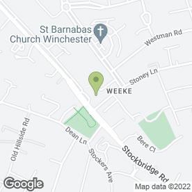 Map of Waitrose Ltd in Winchester, hampshire