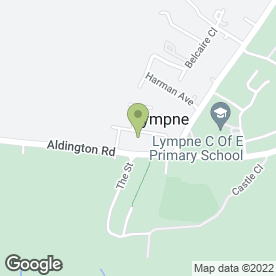 Map of JMO Flooring Ltd in Lympne, Hythe, kent