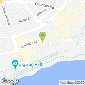 Map of Fell Reynolds in Folkestone, kent