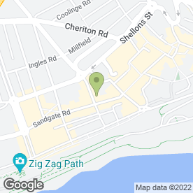 Map of The Chambers in Folkestone, kent