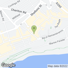 Map of Roots in Folkestone, kent