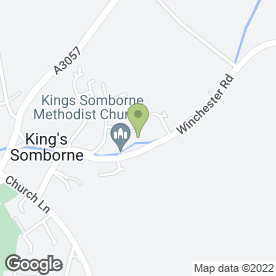 Map of McPhersons Solicitors in Kings Somborne, Stockbridge, hampshire