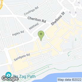 Map of John E McMillan & Assoc. Chartered in Folkestone, kent