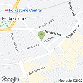 Map of Home-Start Shepway in Folkestone, kent