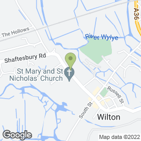 Map of New Friends Pre-School in Wilton, Salisbury, wiltshire