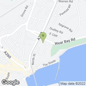Map of Smartypants Nursery in Folkestone, kent