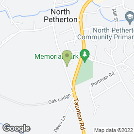 Map of Sandwiches Direct in North Petherton, Bridgwater, somerset