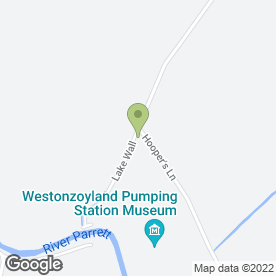 Map of WALNUT TREE FARM CATTERY in Westonzoyland, Bridgwater, somerset