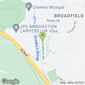 Map of Shaun Watson Plasterer & General Builder in Crawley, west sussex