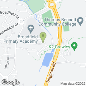 Map of All Build Ltd in Crawley, west sussex
