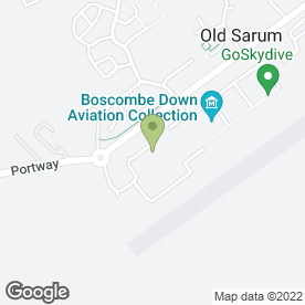 Map of Sarum Graphics in Old Sarum, Salisbury, wiltshire