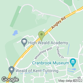 Map of Cygnet Accountants Limited in Cranbrook, kent