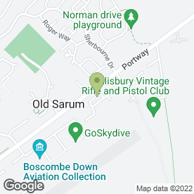 Map of P.M Total Maintenance Services Ltd in Old Sarum, Salisbury, wiltshire