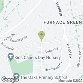 Map of SMILECARE DENTAL CENTRE in Crawley, west sussex