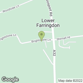 Map of Arrow Flight Couriers in Lower Farringdon, Alton, hampshire