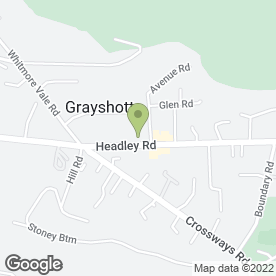 Map of NatWest Bank plc in Grayshott, Hindhead, surrey