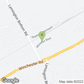 Map of Watercress Private Hire in Four Marks, Alton, hampshire