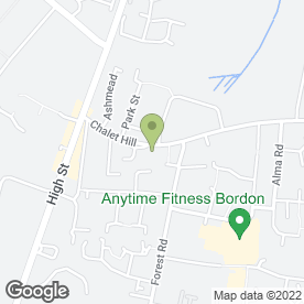 Map of Topfloor in Bordon, hampshire