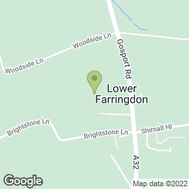 Map of Alton Cars & Vans Ltd in Lower Farringdon, Alton, hampshire